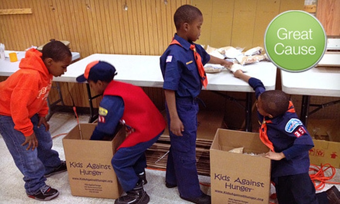 Kids Against Hunger DC Metro - Washington DC: $6 Donation to Feed People in Need