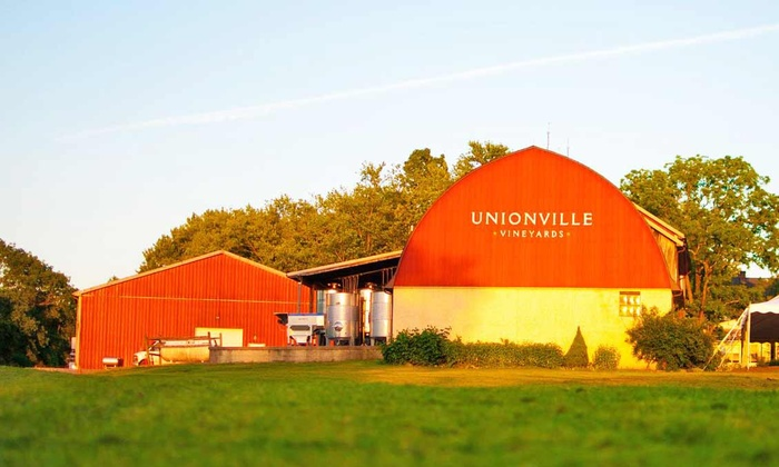 Unionville Vineyards - Unionville Vineyards: Admission to the Spring Wine Festival for Two, Four, or Six Adults at Unionville Vineyards (Up to 52% Off)