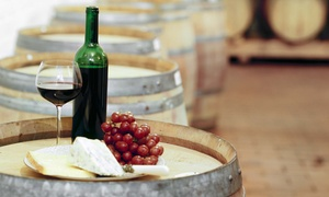 Baker-Bird Winery: Food Tasting with Cheese Platter and Souvenir Glasses for Two, Four, Six at Baker-Bird Winery (Up to 67% Off)