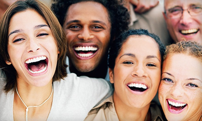 AMG Family Dentistry - Tinton Falls: Dental-Health and Teeth-Whitening Treatments at AMG Family Dentistry (Up to 86% Off). Three Options Available.