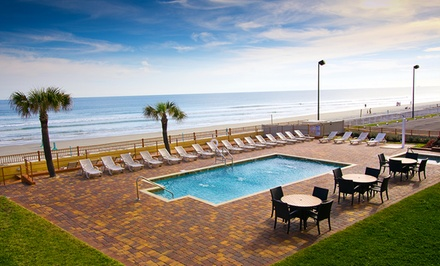 groupon daily deal - Stay at EconoLodge Oceanfront in Daytona Beach, with Dates into June