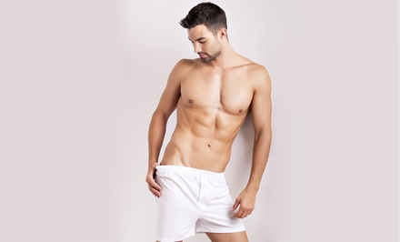 One or Two Male Brazilian Waxes, or One Back and Shoulder Wax at Palmer Skin (Up to 56% Off)