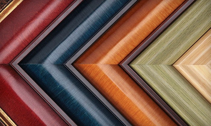 Image Gallery Frame Shop - Multiple Locations: $49 for $100 Worth of Custom Framing at Image Gallery Frame Shop