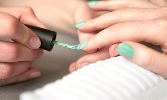 Truly Hair Salon - Appleton: Spa Mani-Pedi or Gelish Manicure at Truly Hair Salon (Up to 66% Off)