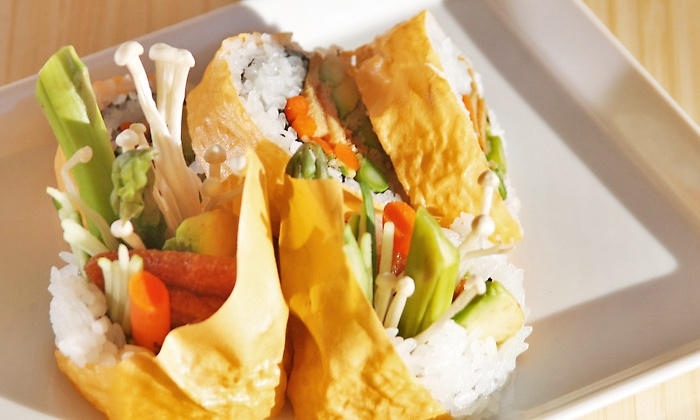 Latitude 43 - Gloucester: Sushi and Seafood at Latitude 43 (Up to 50% Off). Two Options Available.