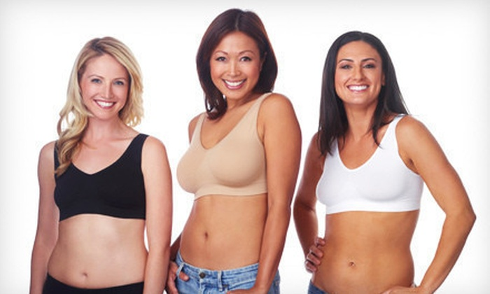 $29 for a World's Best Bra Three-Pack ($60 List Price). Free Shipping. Multiple Sizes and Colors Available.