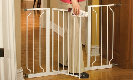 1 or 2 Extra-Wide Walk-Through Gates