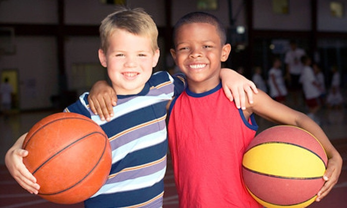 In the Paint Basketball - Evergreen Racquet & Fitness Center: Six-Week Basketball Program for One or Two Children Aged 4–8 or 9–14 at In the Paint Basketball (Up to 64% Off)