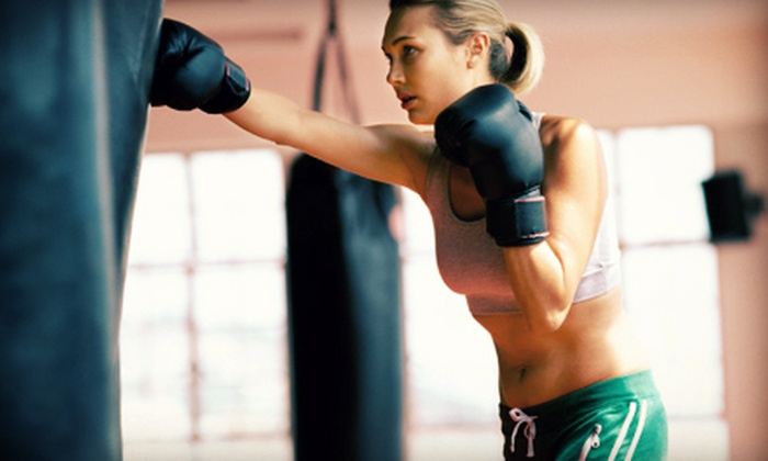 Fitness Advantage - Medfield: 5 or 15 Boxing or Boot-Camp Classes or One Month of Unlimited Classes at Fitness Advantage (Up to 71% Off)