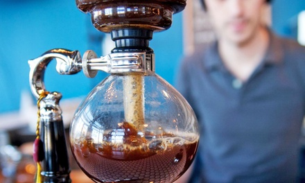 One or Three Groupons for Coffee and Cafe Fare at Metronome Coffee (Up to 50% Off)