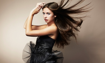 Haircut and Style at Michael Helene Salon Gallery (Up to 51% Off). Three Options Available.