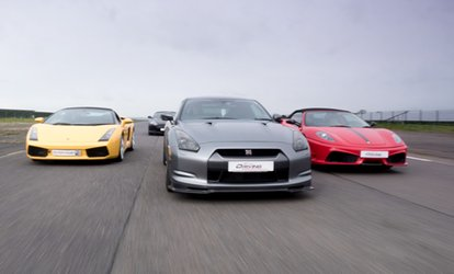 image for Supercar Driving Experience in Up to Four Cars at Everyman Racing