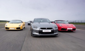 Everyman Racing: Supercar Driving Experience in Up to Four Cars at Everyman Racing