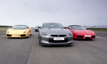 Supercar Driving Experience with Up to Four Cars at Everyman Racing, Eight Locations *