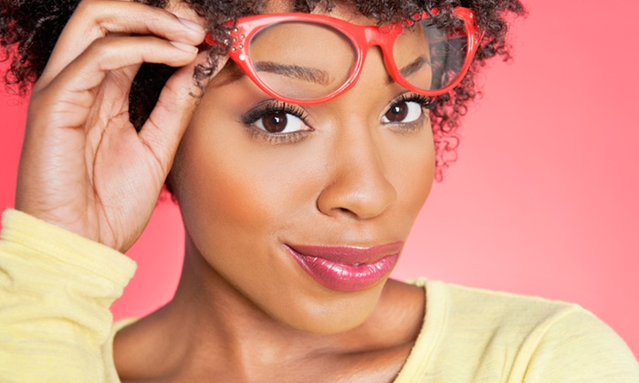 Your Eyes Opticians - East Rockville: Eye Exam and Credit Towards Glasses or Sunglasses at Your Eyes Opticians (Up to 84% Off). Two Options Available.