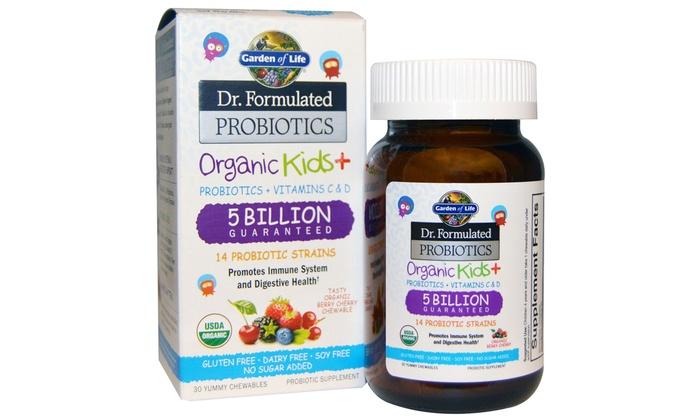 Garden of life kid probiotics groupon goods for Garden of life probiotics review