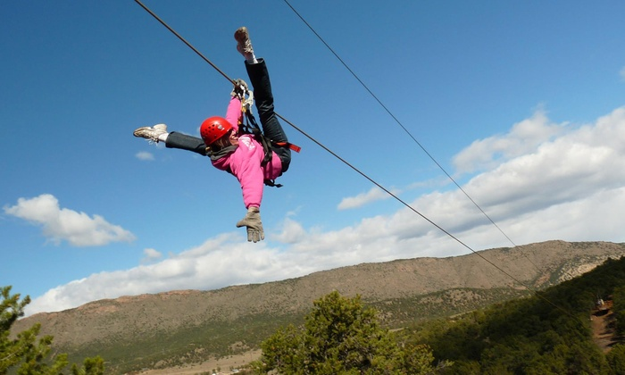 Royal Gorge Zip Line Tours - Cañon City: $49 for a Zipline Tour with Nine Lines from Royal Gorge Zip Line Tours ($98 Value)