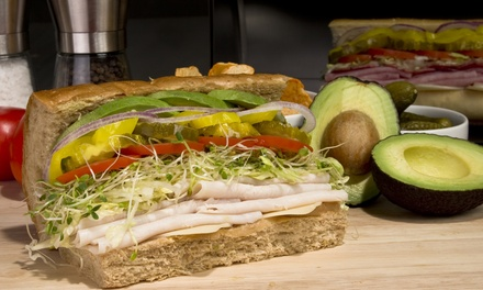 $8 for $15 Towards Two Sandwiches at Deli Delicious
