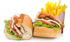 Chefs: ארוחת בגט, פרנה או פיתה עם בשר לבחירה + צ'יפס ושתייה, ליחיד ב-27 ₪ או לזוג ב-53 ₪! תקף עד 23:00
