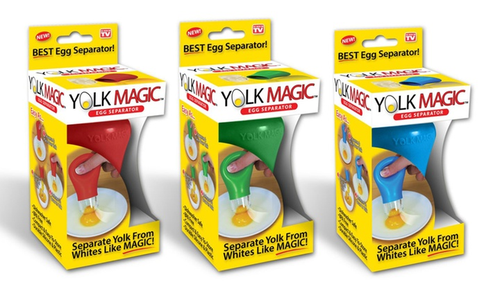 Yolk Magic Egg Separator: Yolk Magic Egg Separator. Multiple Colors Available. Free Returns.