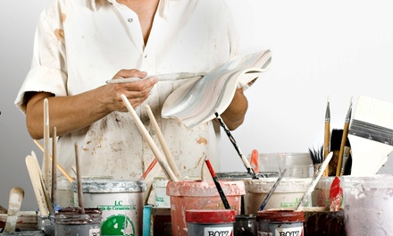 Paint-Your-Own Pottery for One, Two, or Four at Over the Moon Studio (Up to 43% Off)