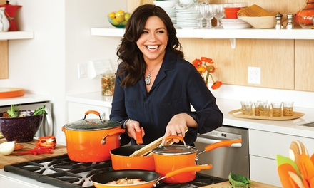 Rachael Ray 10-Piece Hard Enamel Nonstick Cookware Set
