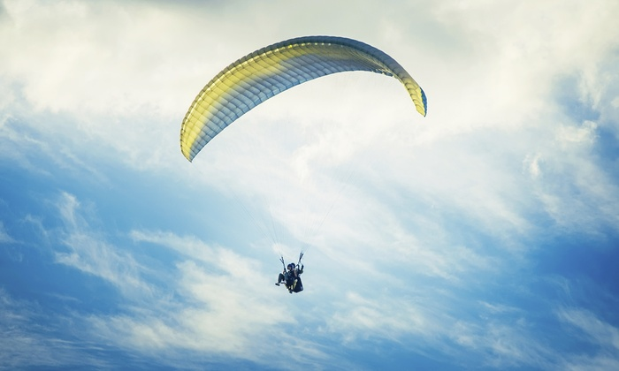 FlyBC Paragliding - Harrison Mills, BC: C$119 for Tandem Paragliding Flight with Video from FlyBC Paragliding (C$200 Value)
