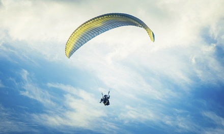 $119 for Tandem Paragliding Flight with Video from FlyBC Paragliding ($200 Value)