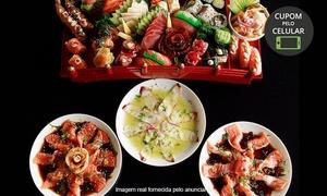 Sachô Restaurante e Temakeria: Sachô Restaurante – Serra da Cantareira e Tremembé: Rodízio Japonês com frutos do mar e sobremesa para 1 ou 2 pessoas