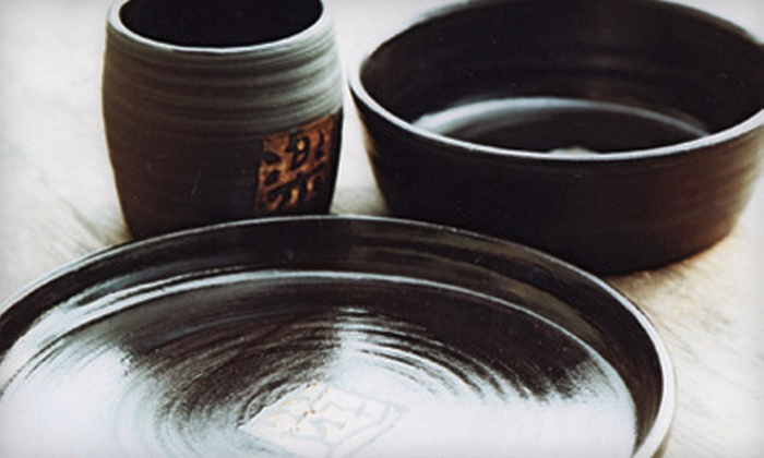 Akiko's Pottery - White Center: $20 Worth of Handmade Pottery and Classes
