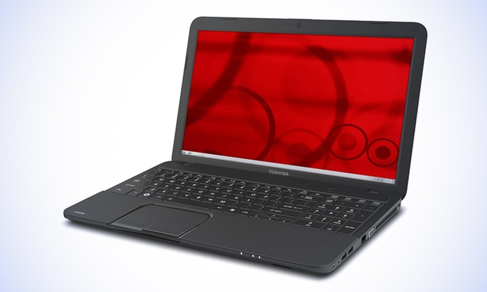 """Toshiba Satellite 15.6"""" HD Laptop: $249.99 for a Toshiba C855D-S5105B Laptop (Manufacturer Refurbished) ($365.99 List Price). Free Shipping and Returns."""