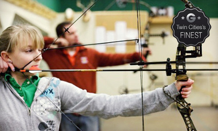 Average Joes Archery - Coon Rapids: Two-Hour Archery Session for Two with Rentals or 10 Two-Hour Rounds of Open Shooting at Average Joes Archery (52% Off)