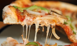 New York Pizza Patrol: Pizza, Pasta, Wings, Salads, and More at NY Pizza Patrol (40% Off). Two Options Available.