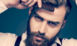 The Dandy Gent: Hair Cut, Beard Styling or Wet Shave Plus £10 Towards Products for £17 at The Dandy Gent (Up to 51% Off)