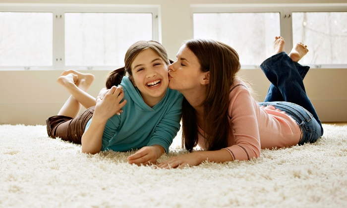 Super Steam - Pflugerville: $59 for Carpet Cleaning for Three Rooms from Super Steam ($130 Value)