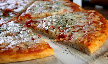 Two $10 Vouchers or Pizza Meal for Two or Four at Mama Nita's Pizza (Up to 45% Off)