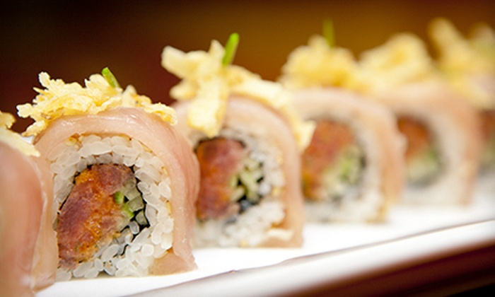 7015 Melrose - Melrose: Prix Fixe Sushi Meal for Two or Four at 7015 Melrose (Up to 61% Off)