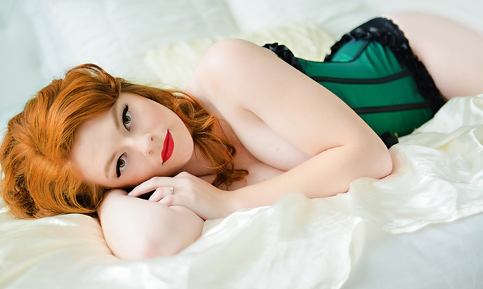 LaFemme Glamour Studios - Central West End: $99 for a One-Hour Boudoir Photo Shoot with a Makeover and Print at LaFemme Glamour Studios ($229 Value)