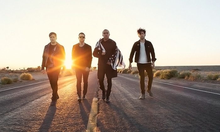 Fall Out Boy - Fiddler's Green Amphitheatre: Fall Out Boy and Wiz Khalifa at Fiddler's Green Amphitheatre Presented by Mazda on July 29 at 7 p.m. (Up to 52% Off)