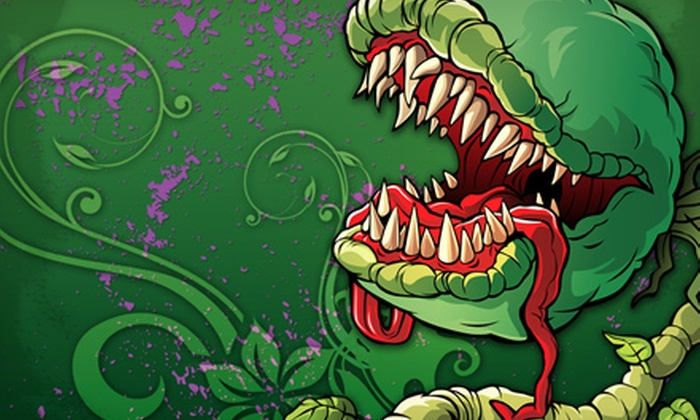 """Little Shop of Horrors"" - Downtown Brampton: Little Shop of Horrors at Rose Theatre Brampton on July 30–August 2 (Up to 51% Off)"