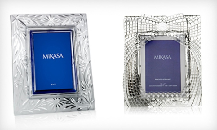 Mikasa Picture Frames: Mikasa Picture Frames (Up to 53% Off). Four Designs Available. Free Shipping and Free Returns.