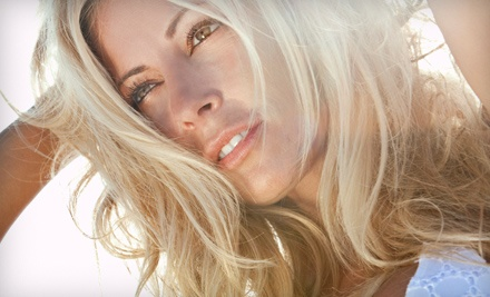 Two or Four Airbrush Spray Tans at Wake Up in Makeup (Up to 69% Off)