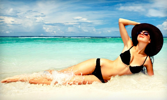 South Beach Tans & Spa - Warwick Estates: One or Two Spray Tans or a Brazilian Sugaring Session at South Beach Tans & Spa (Up to 51% Off)