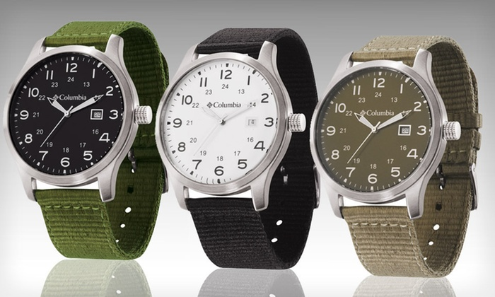 Columbia Men's Fieldmaster II Watches: $25 for a Columbia Men's Fieldmaster II Watch in Black, Khaki, or Olive ($55 List Price). Free Shipping and Returns.