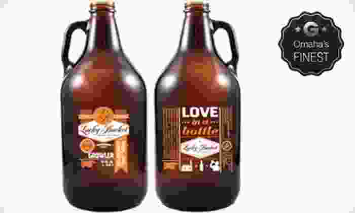 Lucky Bucket Brewing - Lucky Bucket Brewing Company: $14 for Brewery Tour for Two, One Growler, and One Refill at Lucky Bucket Brewing ($30 Value)