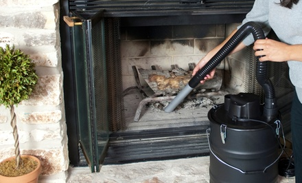 Ash Fireplace and Stove Vacuum Cleaning System