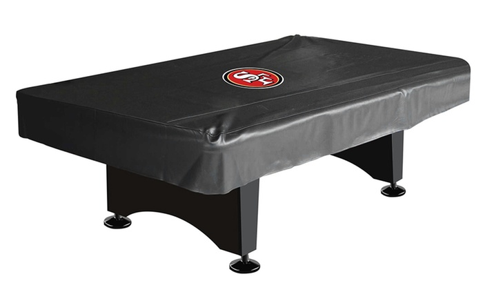 San Francisco 49ers 8' Billiard Table Cover: San Francisco 49ers 8' Billiard Table Cover