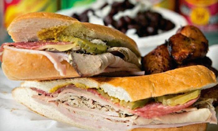 Cucos Sandwich Shop - North Richland Hills: $7 for $15 Worth of Cuban Food at Cuco's Sandwich Shop in North Richland Hills