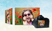 GROUPON: 92% Off Custom Photo Printed on Metal Picture It On Canvas