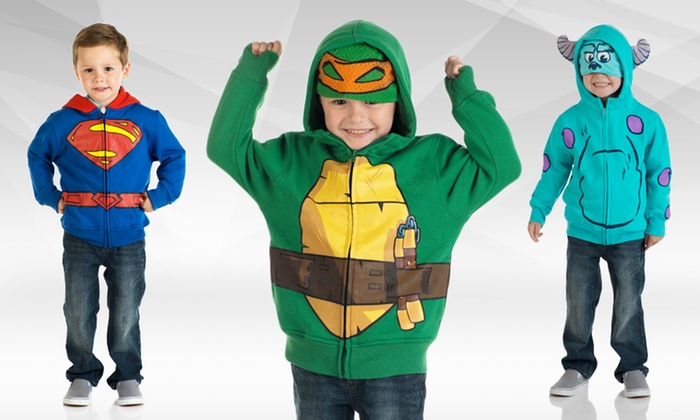 Kids' Character Hoodies: $25.99 for a Kids' Character Hoodie ($49.99 List Price). Multiple Styles Available. Free Shipping and Returns.